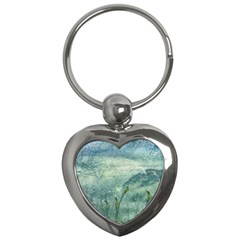 Nature Photo Collage Key Chains (heart)  by dflcprints