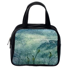 Nature Photo Collage Classic Handbags (one Side) by dflcprints