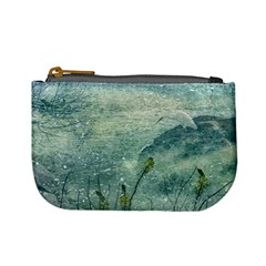 Nature Photo Collage Mini Coin Purses by dflcprints