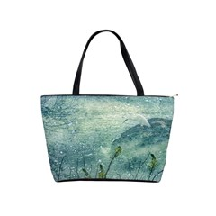 Nature Photo Collage Shoulder Handbags by dflcprints