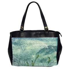 Nature Photo Collage Office Handbags (2 Sides)  by dflcprints
