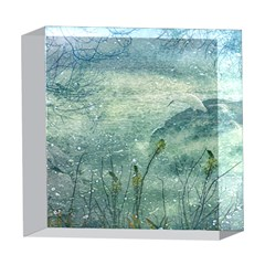 Nature Photo Collage 5  x 5  Acrylic Photo Blocks by dflcprints