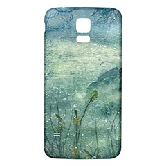 Nature Photo Collage Samsung Galaxy S5 Back Case (white) by dflcprints