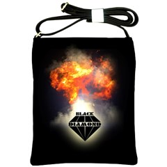 Blackdiamond   Quotation Shoulder Sling Bags by RespawnLARPer