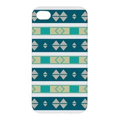 Rhombus And Stripes 			apple Iphone 4/4s Premium Hardshell Case by LalyLauraFLM