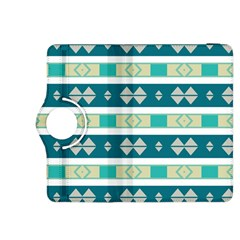 Rhombus and stripes 			Kindle Fire HDX 8.9  Flip 360 Case by LalyLauraFLM