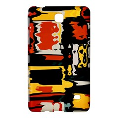 Distorted Shapes In Retro Colors samsung Galaxy Tab 4 (8 ) Hardshell Case by LalyLauraFLM