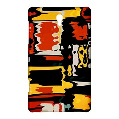 Distorted Shapes In Retro Colors samsung Galaxy Tab S (8 4 ) Hardshell Case