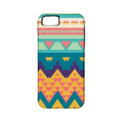 Pastel Tribal Design 			apple Iphone 5 Classic Hardshell Case (pc+silicone) by LalyLauraFLM