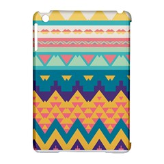 Pastel Tribal Design 			apple Ipad Mini Hardshell Case (compatible With Smart Cover) by LalyLauraFLM