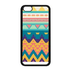 Pastel Tribal Design 			apple Iphone 5c Seamless Case (black) by LalyLauraFLM