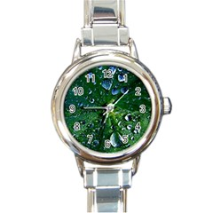 Morning Dew Round Italian Charm Watches