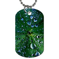 Morning Dew Dog Tag (two Sides) by Costasonlineshop