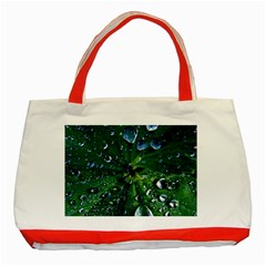 Morning Dew Classic Tote Bag (red)  by Costasonlineshop
