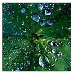 Morning Dew Large Satin Scarf (square)