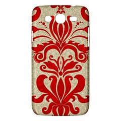 Ruby Red Swirls Samsung Galaxy Mega 5 8 I9152 Hardshell Case  by SalonOfArtDesigns