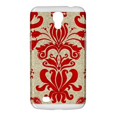 Ruby Red Swirls Samsung Galaxy Mega 6 3  I9200 Hardshell Case by SalonOfArtDesigns