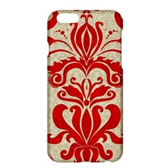 Ruby Red Swirls Apple Iphone 6 Plus/6s Plus Hardshell Case by SalonOfArtDesigns