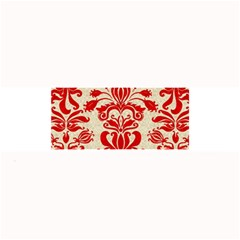 Ruby Red Swirls Large Bar Mats by SalonOfArtDesigns