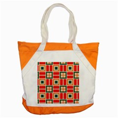 Squares And Rectangles In Retro Colors 			accent Tote Bag by LalyLauraFLM