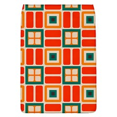 Squares And Rectangles In Retro Colors 			removable Flap Cover (l) by LalyLauraFLM
