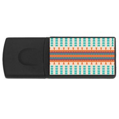 Etnic Design 			usb Flash Drive Rectangular (4 Gb) by LalyLauraFLM