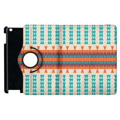 Etnic Design apple Ipad 3/4 Flip 360 Case by LalyLauraFLM