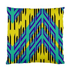 Tribal Angles standard Cushion Case (two Sides) by LalyLauraFLM