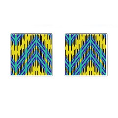 Tribal Angles cufflinks (square) by LalyLauraFLM