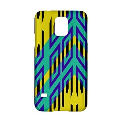 Tribal Angles samsung Galaxy S5 Hardshell Case by LalyLauraFLM