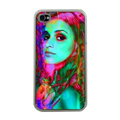 Alice In Wonderland Apple Iphone 4 Case (clear) by icarusismartdesigns