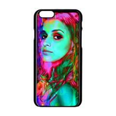 Alice In Wonderland Apple Iphone 6/6s Black Enamel Case by icarusismartdesigns