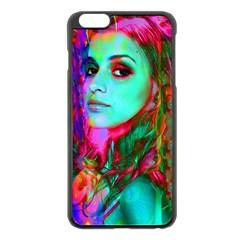 Alice In Wonderland Apple Iphone 6 Plus/6s Plus Black Enamel Case by icarusismartdesigns