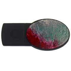 Metallic Abstract 1 USB Flash Drive Oval (1 GB)  by timelessartoncanvas