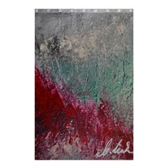 Metallic Abstract 1 Shower Curtain 48  X 72  (small)  by timelessartoncanvas