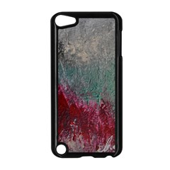 Metallic Abstract 1 Apple Ipod Touch 5 Case (black) by timelessartoncanvas