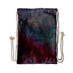 Metallic Abstract 1 Drawstring Bag (small) by timelessartoncanvas