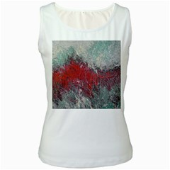 Metallic Abstract 2 Women s Tank Tops by timelessartoncanvas
