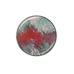 Metallic Abstract 2 Hat Clip Ball Marker (4 Pack) by timelessartoncanvas