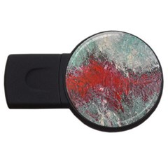 Metallic Abstract 2 Usb Flash Drive Round (4 Gb)  by timelessartoncanvas