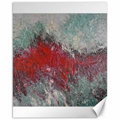 Metallic Abstract 2 Canvas 16  X 20   by timelessartoncanvas