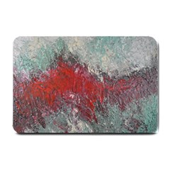 Metallic Abstract 2 Small Doormat  by timelessartoncanvas