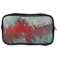 Metallic Abstract 2 Toiletries Bags by timelessartoncanvas