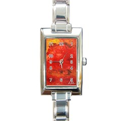 Stone Wall Rectangle Italian Charm Watches by timelessartoncanvas
