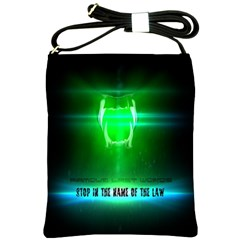 Stop In The Name Of The Law Shoulder Sling Bags