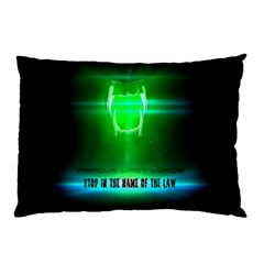 Stop In The Name Of The Law Pillow Cases (two Sides) by RespawnLARPer