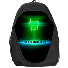 Stop In The Name Of The Law Backpack Bag by RespawnLARPer