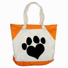 Puppy Love Accent Tote Bag by ButThePitBull