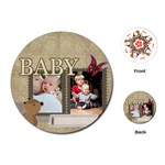 baby - Playing Cards (Round)