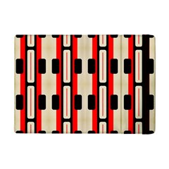 Rectangles and stripes pattern Apple iPad Mini 2 Flip Case by LalyLauraFLM
